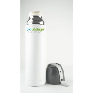Bio Leafage Stainless Steel Flask Water Bottle for use Home Boys Girls 500ml White