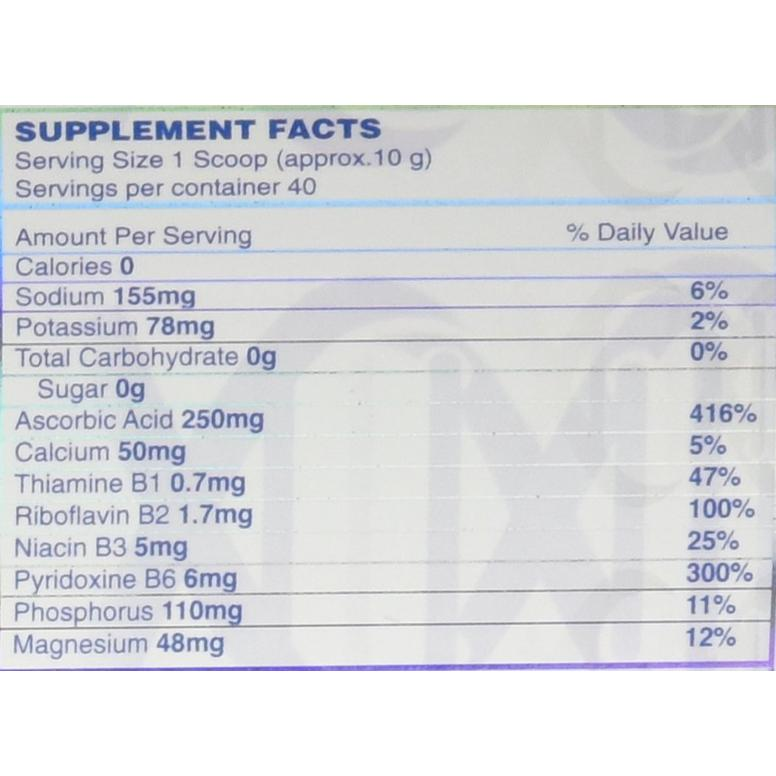 Cell K.E.M (Fruit Punch) 40 Servings-supplement facts