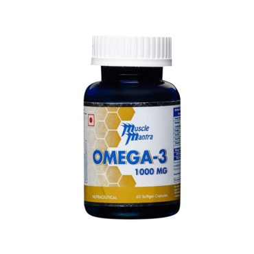 Musclemantra Omega 3 100 Softgel Capsules