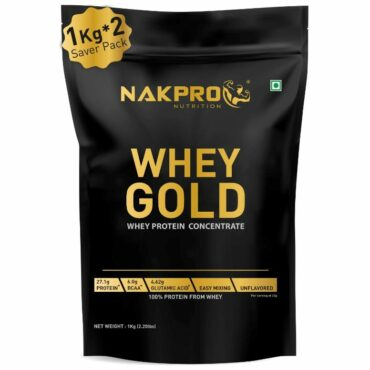 Nakpro Gold Whey Protein Concentrate 2kg Unflavour