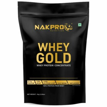 Nakpro Gold Whey Protein Concentrate Unflavour