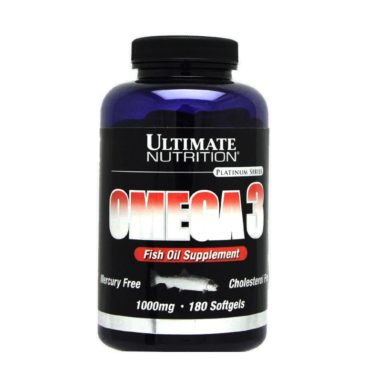 Ultimate Nutrition Omega 3 180 softgels