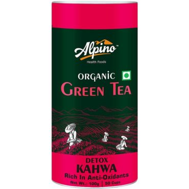 Alpino Certified Organic Green Tea Detox Kahwa 100gm