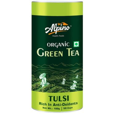 Alpino Certified Organic Tulsi Green Tea 100gm