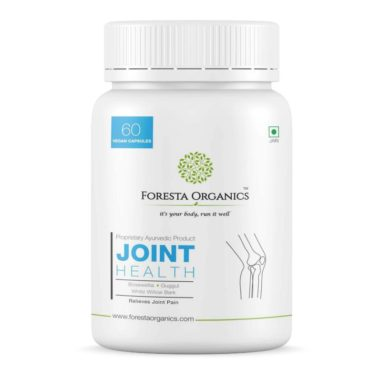Foresta Organics Joint Health with Boswellia, White Willow Bark & Guggul - 60 caps front