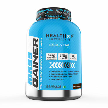 HealthXP Mass Gainer 3kg chocolate