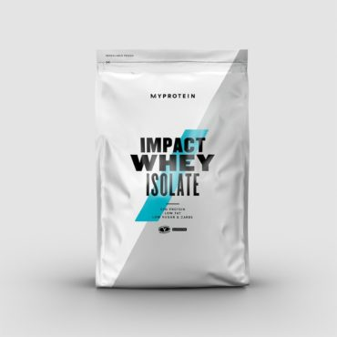 Myprotein Impact Whey Isolate- Unflavoured-500gm-front