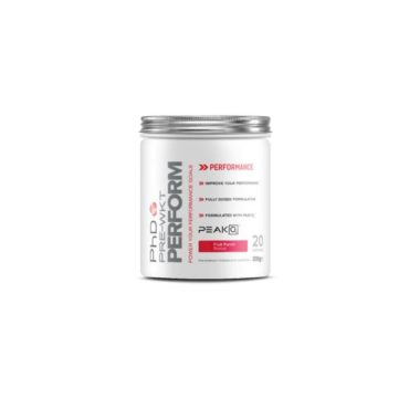 PhD Nutrition Pre Workout Perform Fruit Punch 200g