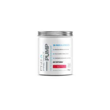 PhD Nutrition Pre Workout Pump Fruit Punch 200g