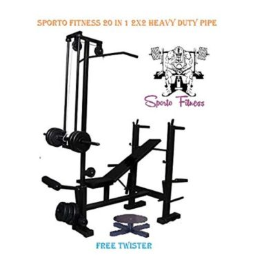 Sporto Fitness 20-in-1 Iron Bench