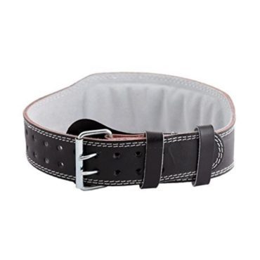 Sporto Fitness Gym Belt Leather (Large 32-36 INCH Waist)