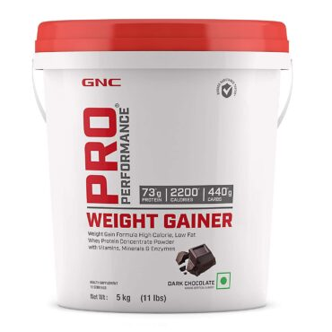 GNC Pro performance Weight gainer 11 lbs