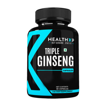 HealthXP Triple Ginseng 60 Capsules