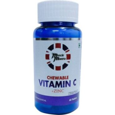 MUSCLEMANTRA CHEWABLE VITAMIN C