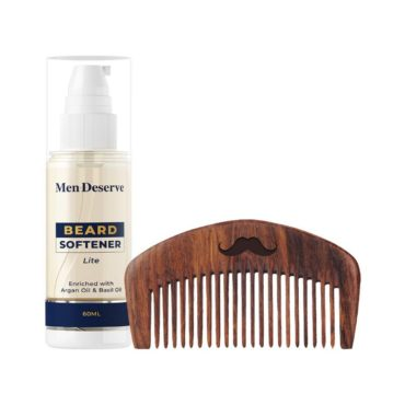Men Deserve Combo of Beard Softener Lite 60ml