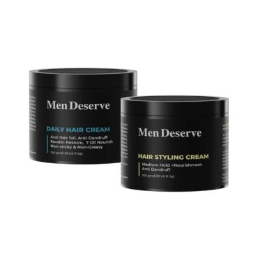 Men Deserve Combo of Daily Hair Cream 50ml