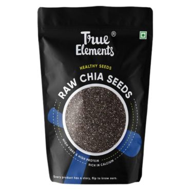 True Elements Calcium Rich Raw Chia Seeds for Weight Loss 150gm (Pack of 2)