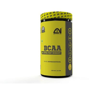 Absolute Nutrition Pre Workout BCAA 300gm Orange
