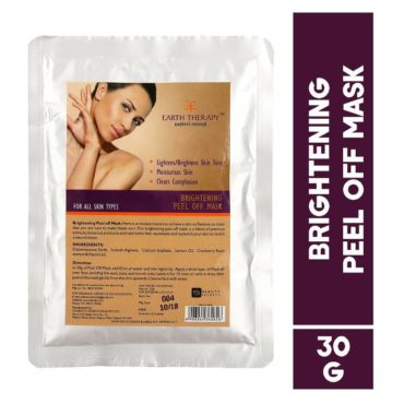 EARTH THERAPY Brightening Peel Off Mask 30g