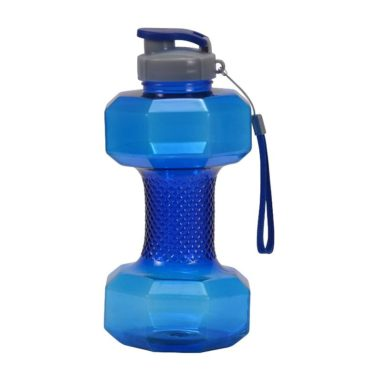 GHC Herbals Dumbell Water Bottle 1.5litre Blue
