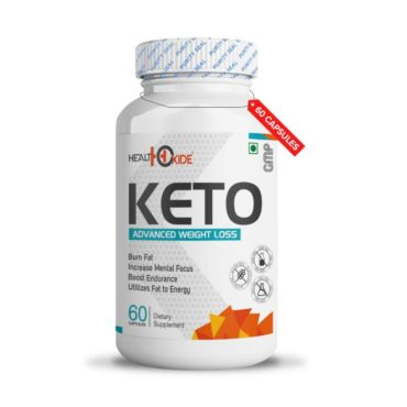 HealthOxide Keto Advanced Weight Loss Supplement 60 capsules