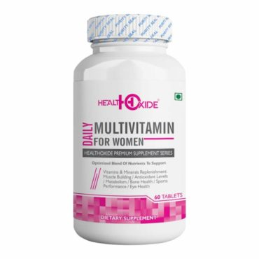 HealthOxide Multivitamins for Women 60 Tablets