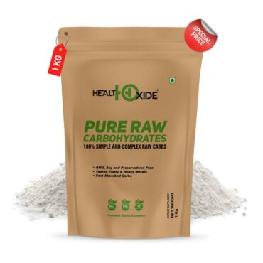 HealthOxide Pure Raw Carbohydrates 1kg Unflavored1