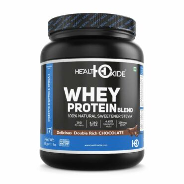 HealthOxide Whey Protein with 100% Natural Sweetener 500g1