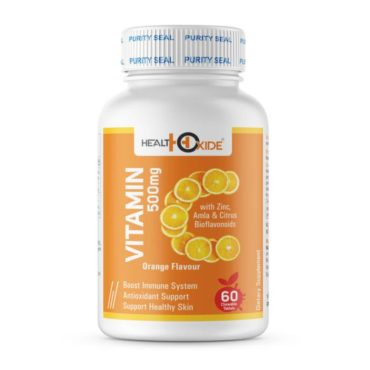 Healthoxide Vitamin C Antioxidant chewable 60 Tablets1