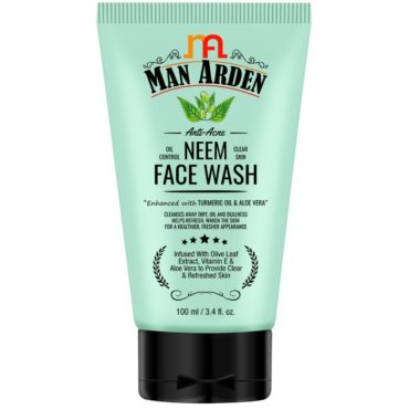 Man Arden Anti-Acne Neem Face Wash 100ml front