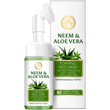 Mom & World Neem & Aloe Vera Foaming Face Wash 120ml