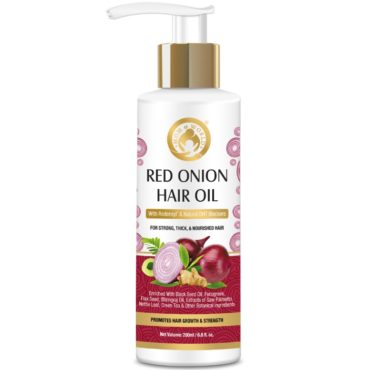 Mom & World Red Onion Hair Oil 200ml front