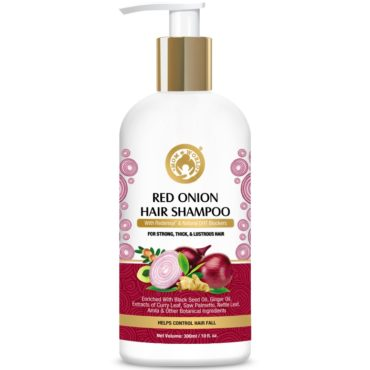 Mom & World Red Onion Hair Shampoo 300ml front