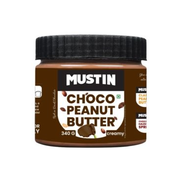 Mustin Chocolate Peanut Butter 340gm