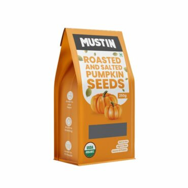 Mustin Roasted & Salted Pumpkin Seeds 250g Roasted Pumpkin