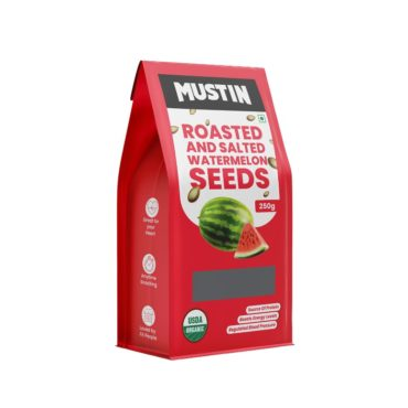 Mustin Roasted & Salted Watermelon Seeds 250g