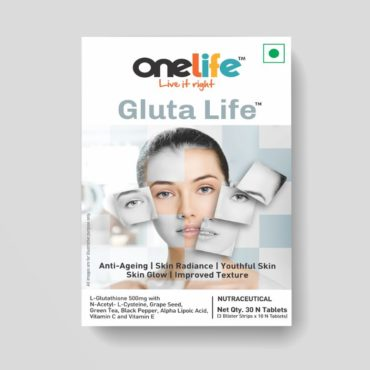 Onelife Gluta Life Promotes Anti-Ageing 30 Tablets