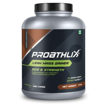 Proathlix Lean Mass Gainer 3kg Double Chocolate