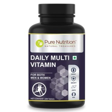Pure Nutrition Daily Multivitamin 60 Tablets front