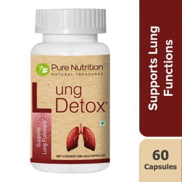Pure Nutrition Lung Detox Supports 60 Capsules
