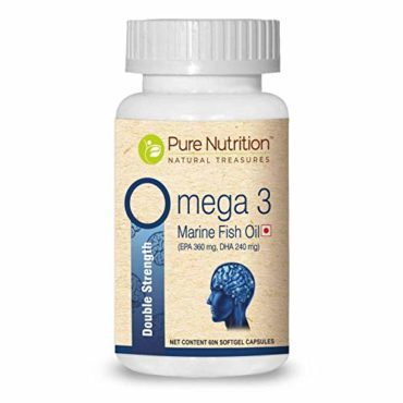 Pure Nutrition Omega 3 Double Strength Marine Fish Oil 60 Softgel Capsules5