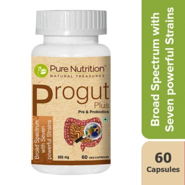 Pure Nutrition Progut Plus Seven Powerful Strains fermented probiotics 60 Capsules