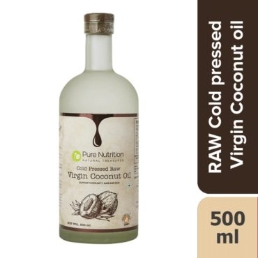 Pure Nutrition Raw Cold Pressed Virgin Coconut Oil 500ml