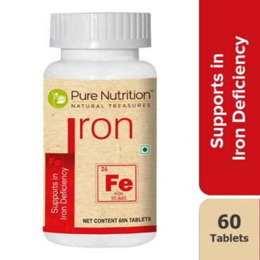 Pure Nutrition Supports in Iron Deficiency 60 Tablets