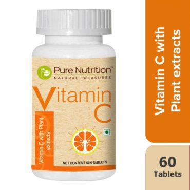 Pure Nutrition Vitamin C 60 tablets front