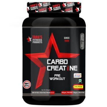 Tara Fitness Products Carbo Creatine 500g front