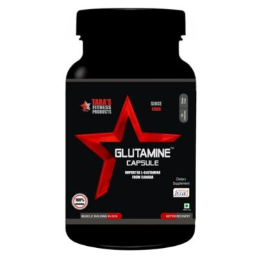 Tara Fitness Products Glutamine 100 Capsules front