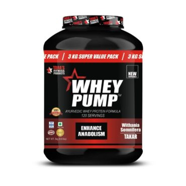 Tara Fitness Products Whey Pump 3kg front
