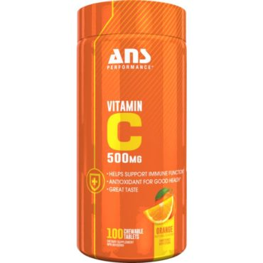 ANS Performance Delicious Vitamin C 100 Chewabl Tablets1