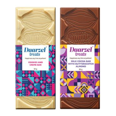 Ambriona Daarzel Chocolate Bars 50gm Pack of 2